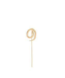 CHARLOTTE CHESNAIS | Whirl Hookplated Earring