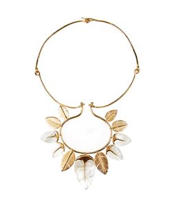 Aurelie Bidermann | Talitha Mother-Of-Pearl Plated Necklace