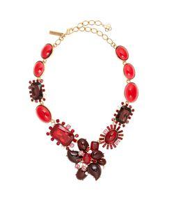 Oscar de la Renta | Crystal-Embellished Necklace