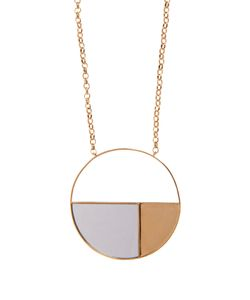 Aurelie Bidermann | Bianca Mirrored Yellowplated Long Necklace