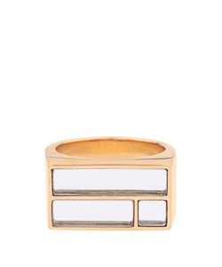 Aurelie Bidermann | Bianca Yellowplated Mirror Ring