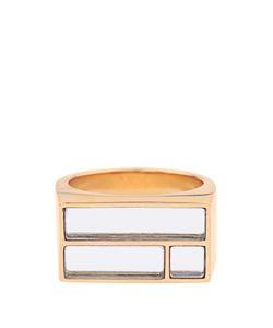 Aurelie Bidermann | Bianca Yellowplated Mirror Ring