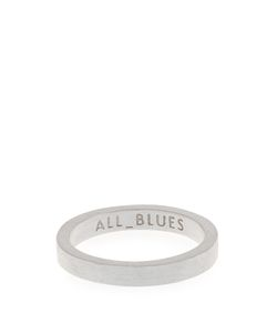 ALL BLUES | Brushed Ring