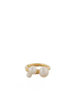 LUCY FOLK | Pearly Dough Pearl And Yellowplated Ring