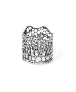 Aurelie Bidermann | -Plated Vintage Lace Ring