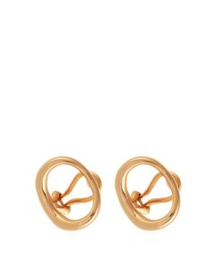 CHARLOTTE CHESNAIS | Nahoplated Clip-On Earrings