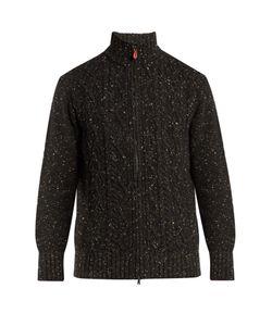 INIS MEÁIN | Aran-Knit Wool Cardigan