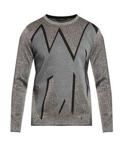 Christopher Kane | Smashed Jacquard Sweater