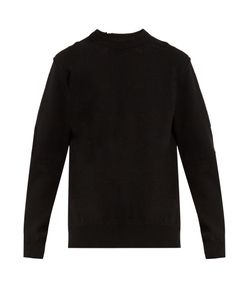 Balenciaga | Wool-Blend Distressed-Knit Sweater
