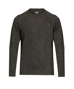 Massimo Alba | Raglan-Sleeved Yak Honeycomb-Knit Sweater