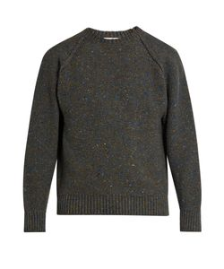 INIS MEÁIN | Reversed Knit Wool And Cashmere-Blend Sweater