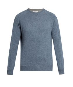 Brunello Cucinelli | Wool Cashmere And Silk-Blend Sweater