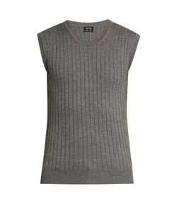 Jil Sander | Ribbed-Knit Wool And Silk-Blend Top