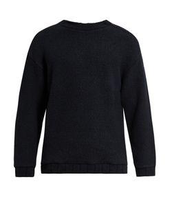 Tomorrowland | Zip-Detail Wool-Blend Fleece Sweater
