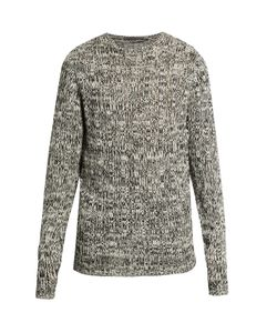 Denis Colomb | Crew-Neck Open-Weave Cashmere Sweater