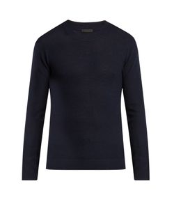 ATM | Felt-Panel Wool Sweater