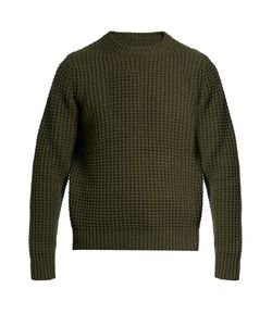 Vince | Wool And Cashmere Waffle-Knit Sweater