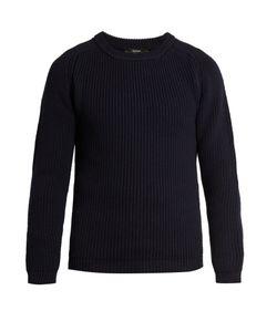 HELBERS | Wool Crew Knit Sweater