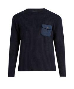 MT. RAINIER DESIGN | Mr61336 Crew-Neck Ribbed-Knit Sweater