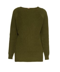 Adam Lippes | Ribbed-Knit Cotton And Cashmere-Blend Sweater