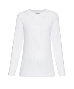 Sonia Rykiel | Chunky-Knit Back-Overlay Sweater