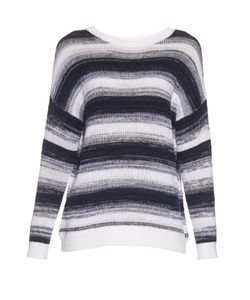 Vince | Striped Cotton-Knit Sweater