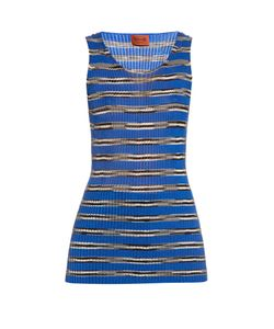 Missoni | Striped Ribbed-Knit Top