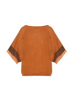 Issey Miyake | Bark Oversized Cotton-Knit Top