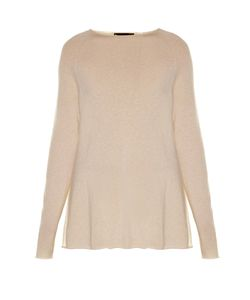 The Row | Banny Slash-Neck Cashmere And Silk-Blend Sweater