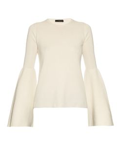 The Row | Darcy Bell-Sleeve Cashmere Silk-Blend Knit-Top