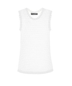 Dolce & Gabbana | Lace-Knit Tank Top