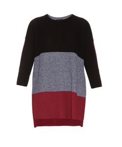 Rag & Bone | Jena Contrast-Panel Cotton Sweater