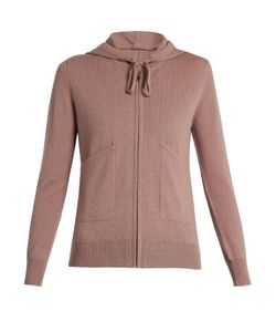 PEPPER & MAYNE | Zip-Up Cashmere Hooded Sweater