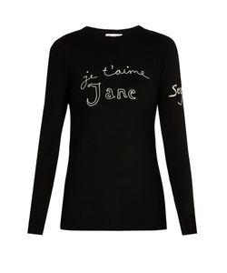 Bella Freud | Je Taime Jane Merino-Wool Sweater