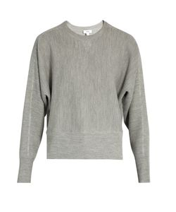 Vince | Crew-Neck Wool And Silk-Blend Sweater