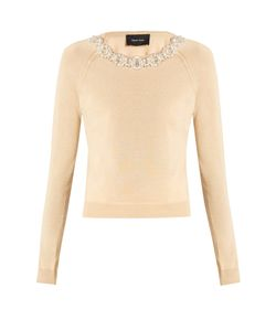 Simone Rocha | Embellished Wool And Silk-Blend Sweater