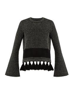 Proenza Schouler | Tassel-Hem Tweed Sweater