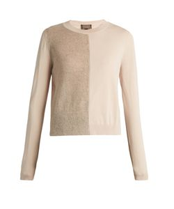 Giambattista Valli | Mohair And Wool-Blend Contrast-Knit Sweater