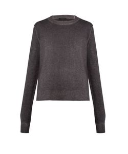 The Row | Rienda Cashmere-Blend Crew-Neck Sweater