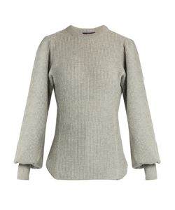 Y'S BY YOHJI YAMAMOTO | Bishop-Sleeved Wool Sweater