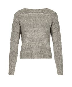 See By Chloe | Round-Neck Looped-Knit Sweater