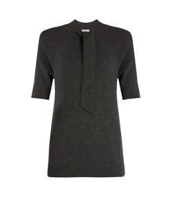 Tomas Maier | Tie-Neck Cashmere-Knit Top