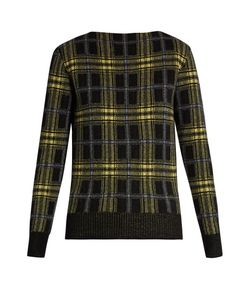 Tomas Maier | Plaid Wool And Cashmere-Blend Sweater