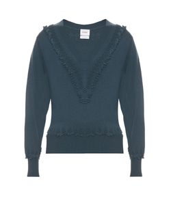 BARRIE | Romantic V-Neck Cashmere Sweater