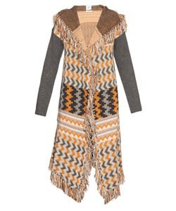 Banjo & Matilda | Marrakech Intarsia Knit Hooded Cardigan