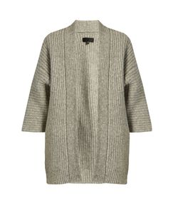 Nili Lotan | Naomi Ribbed-Knit Alpaca-Blend Cardigan