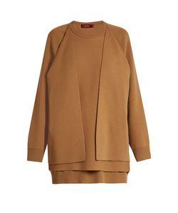 SIES MARJAN   Double-Layer Wool-Blend Sweater