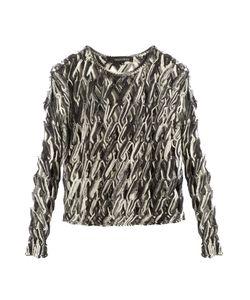 TABULA RASA | Lela Hand-Macramé Knit Top