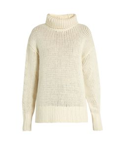 Y'S BY YOHJI YAMAMOTO   Roll-Neck Wool-Blend Knit Sweater