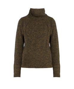 YOHJI YAMAMOTO REGULATION | Funnel-Neck Wool-Blend Sweater